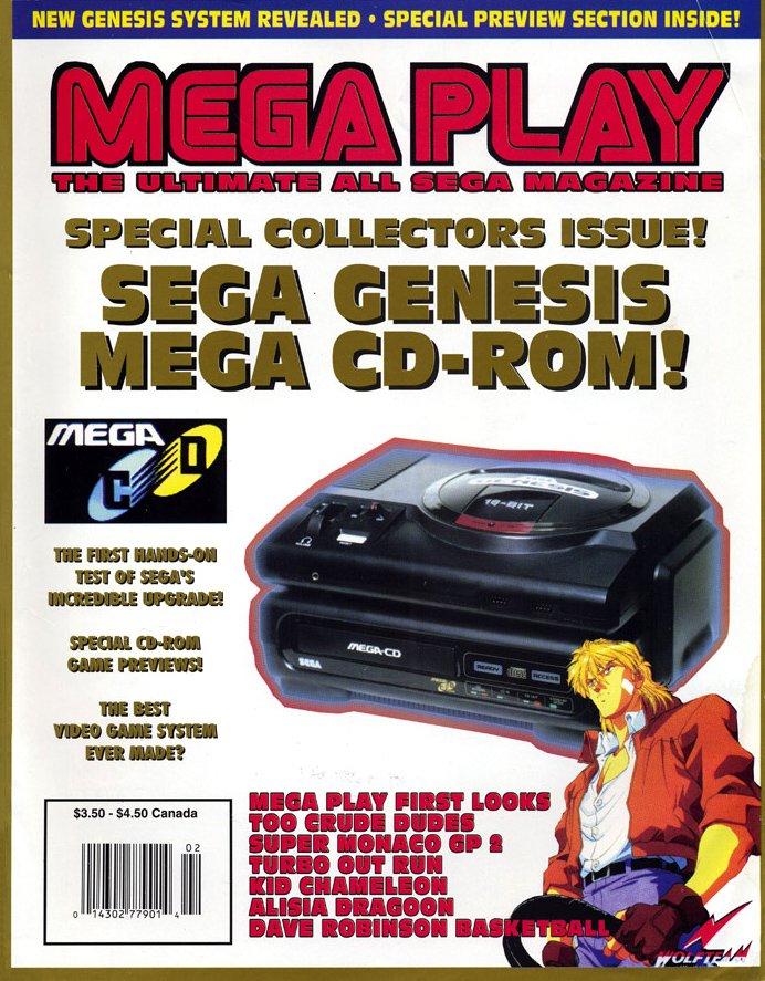 Mega Play Vol.3 No.1 January/February 1992