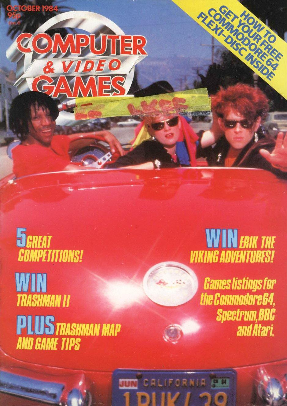 Computer & Video Games 036 (October 1984)