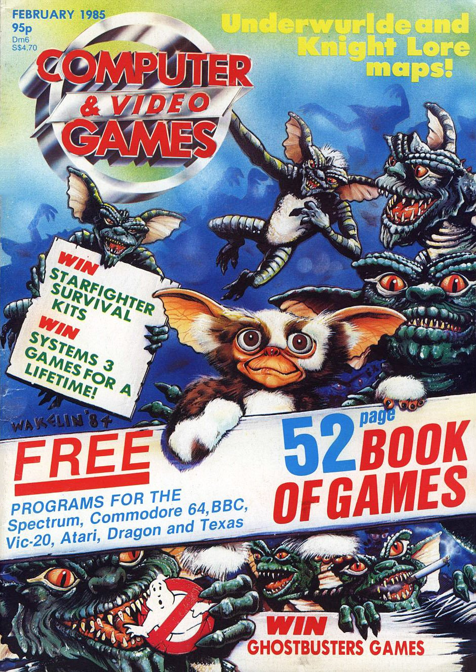 Computer & Video Games 040 (February 1985)