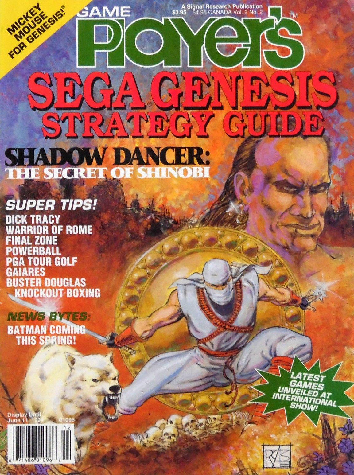 Game Player's Sega Genesis Strategy Guide Vol.2 No.2 (April-May 1991)