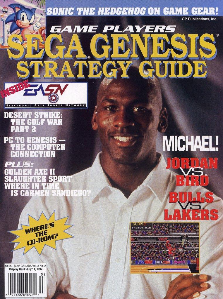 Game Players Sega Genesis Strategy Guide Vol.3 No.2 (April-May 1992)