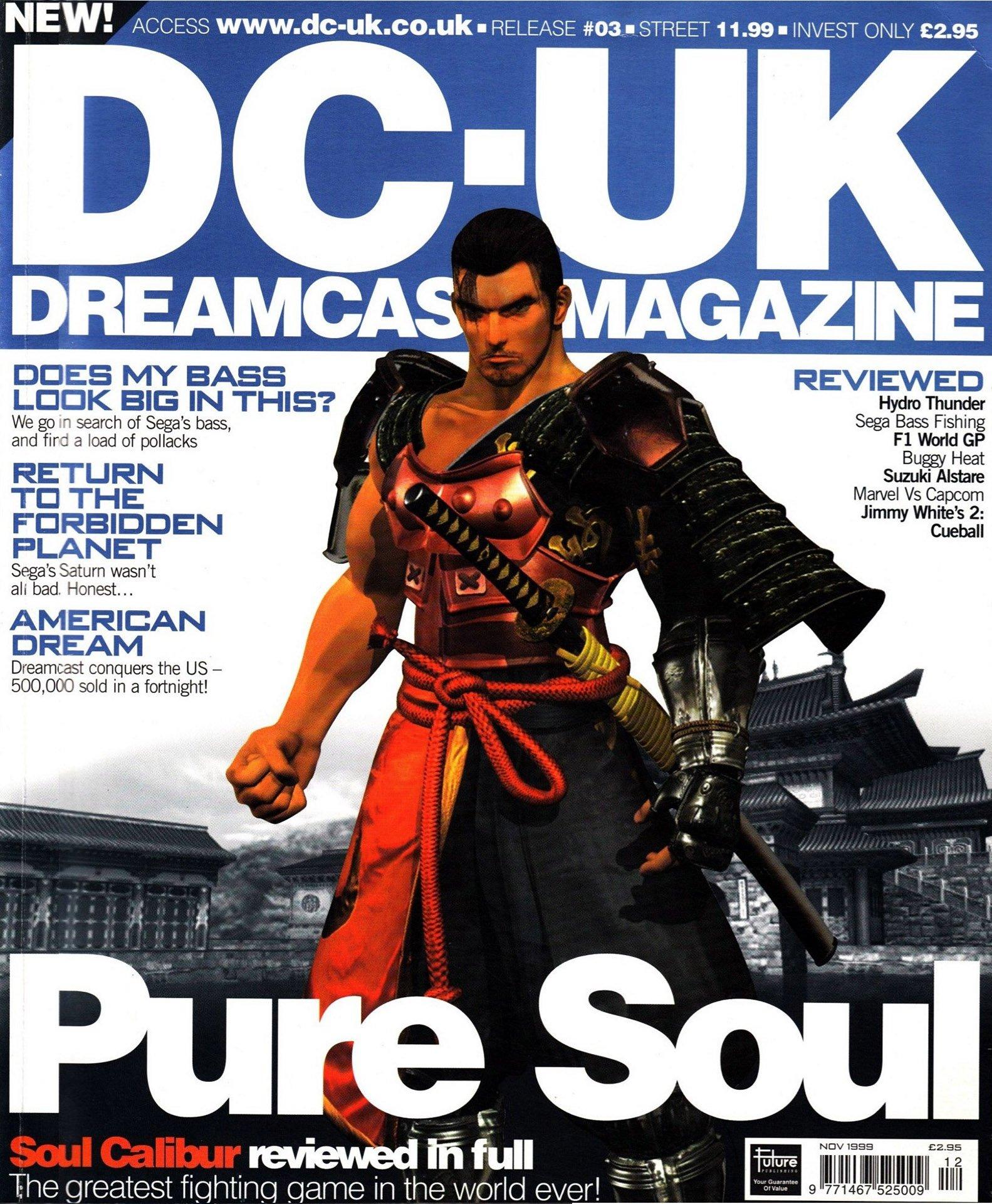 DC-UK Issue 03 (November 1999)