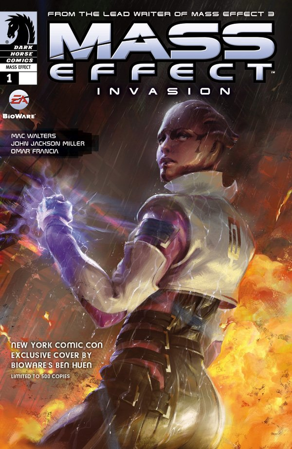 Mass Effect - Invasion 001 (cover d) (October 2011)