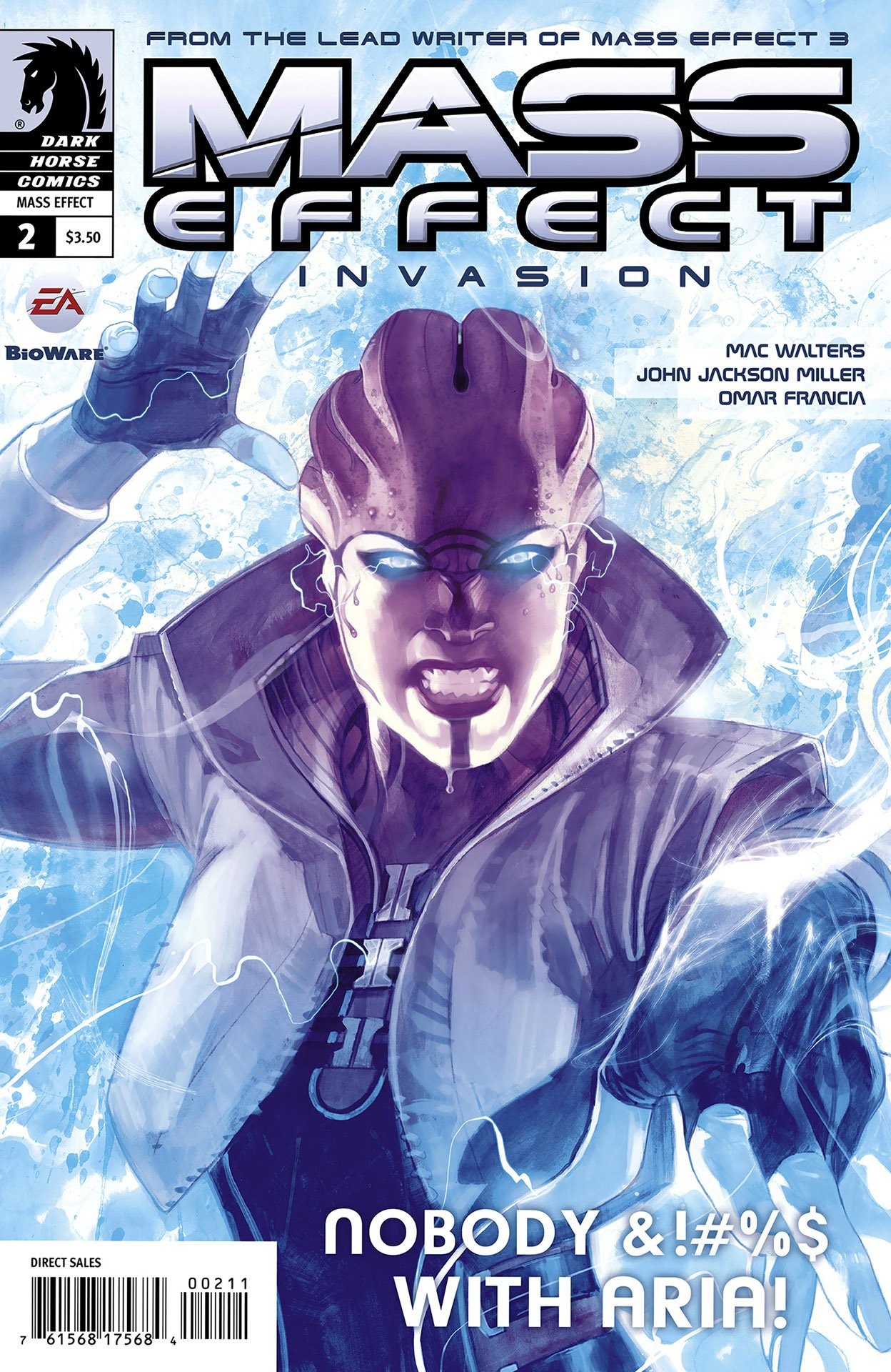 Mass Effect - Invasion 002 (cover a) (November 2011)