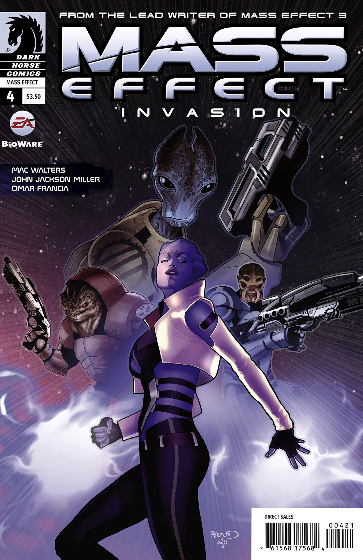 Mass Effect - Invasion 004 (cover b) (January 2012)