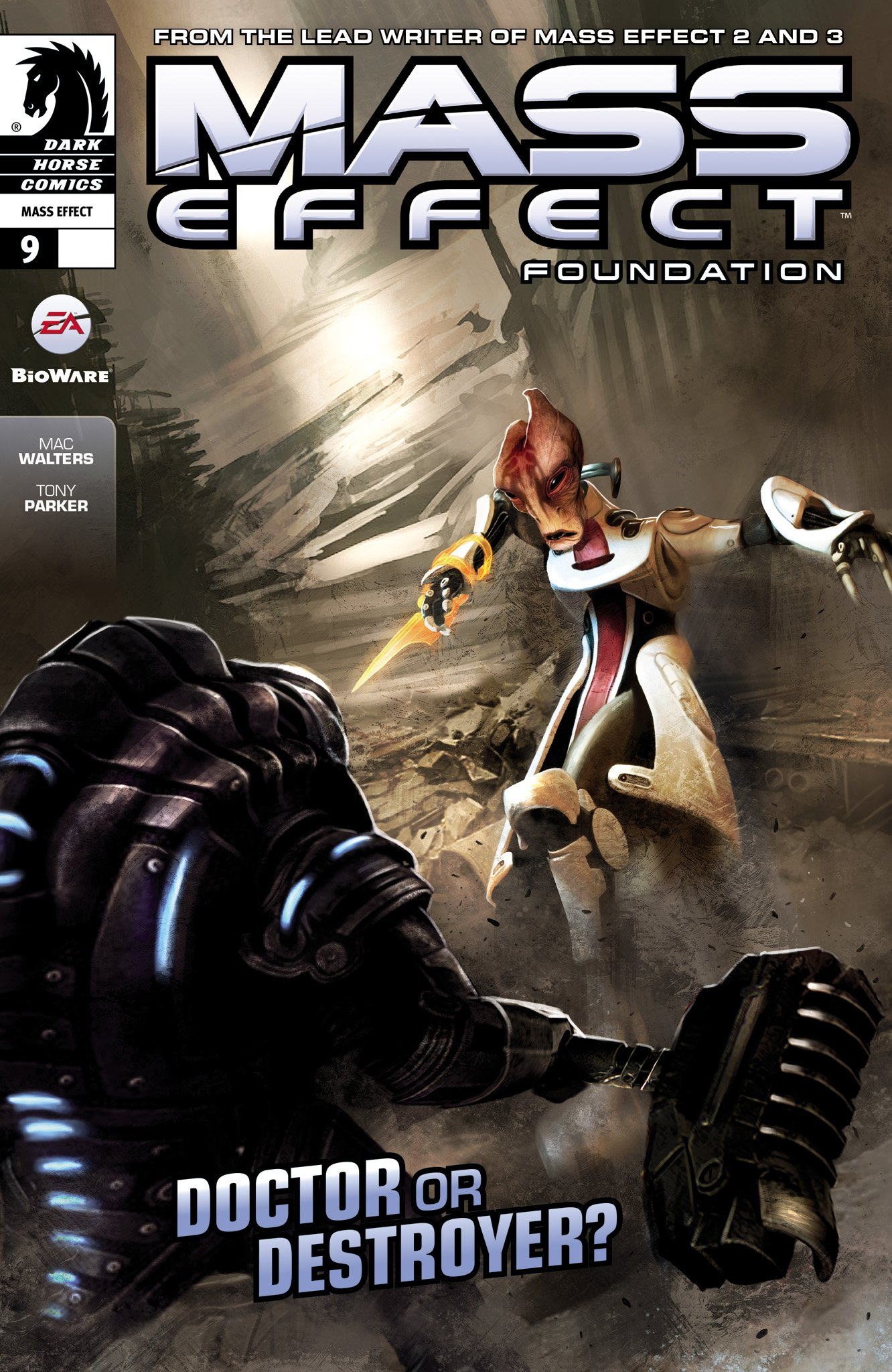 Mass Effect - Foundation 009 (March 2014)