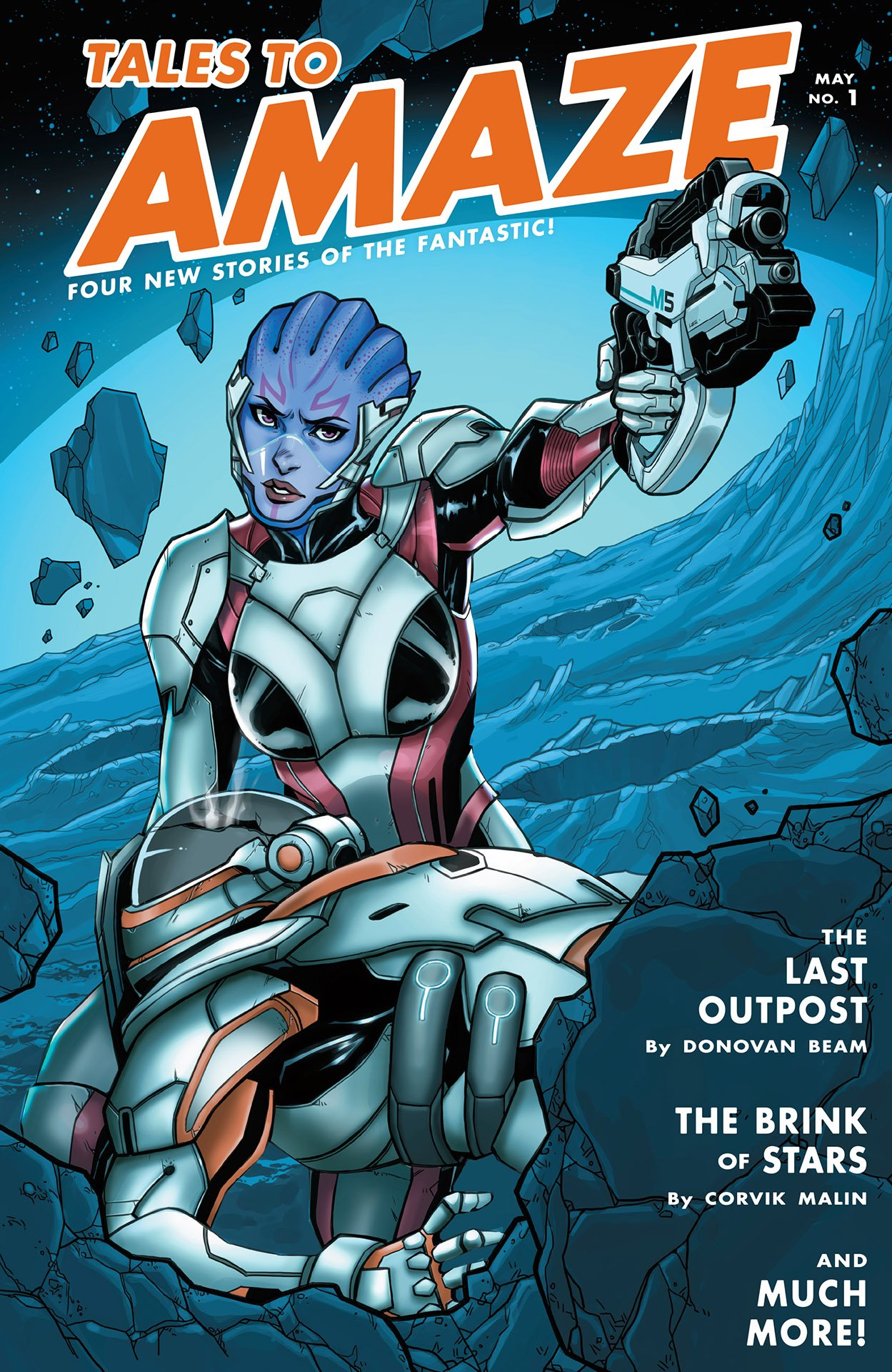 Mass Effect - Discovery 001 (cover b) (May 2017)