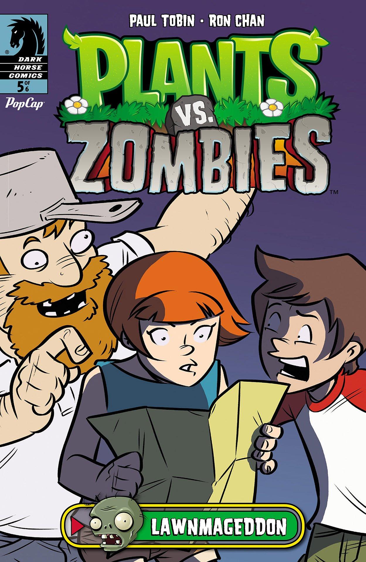 Plants vs. Zombies - Lawnmageddon 005 (August 2013)