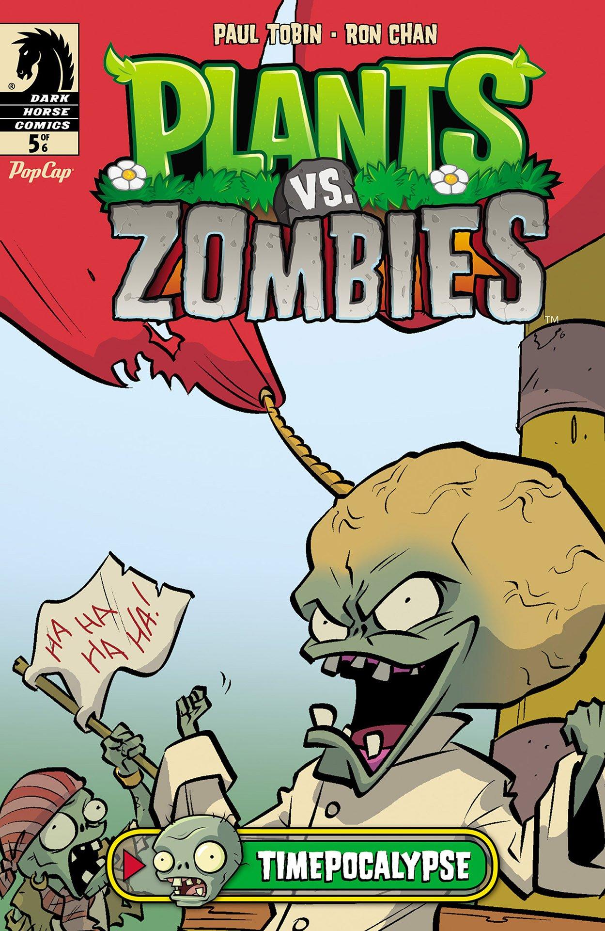 Plants vs. Zombies - Timepocalypse 005 (September 2014)