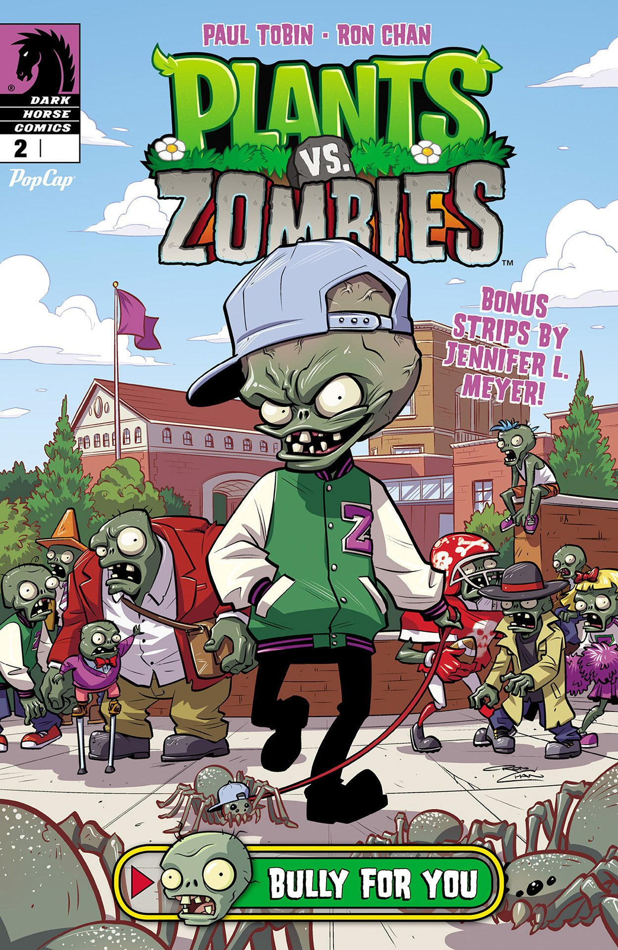 Plants vs. Zombies 002 - Bully for You 2 of 3 (July 2015)