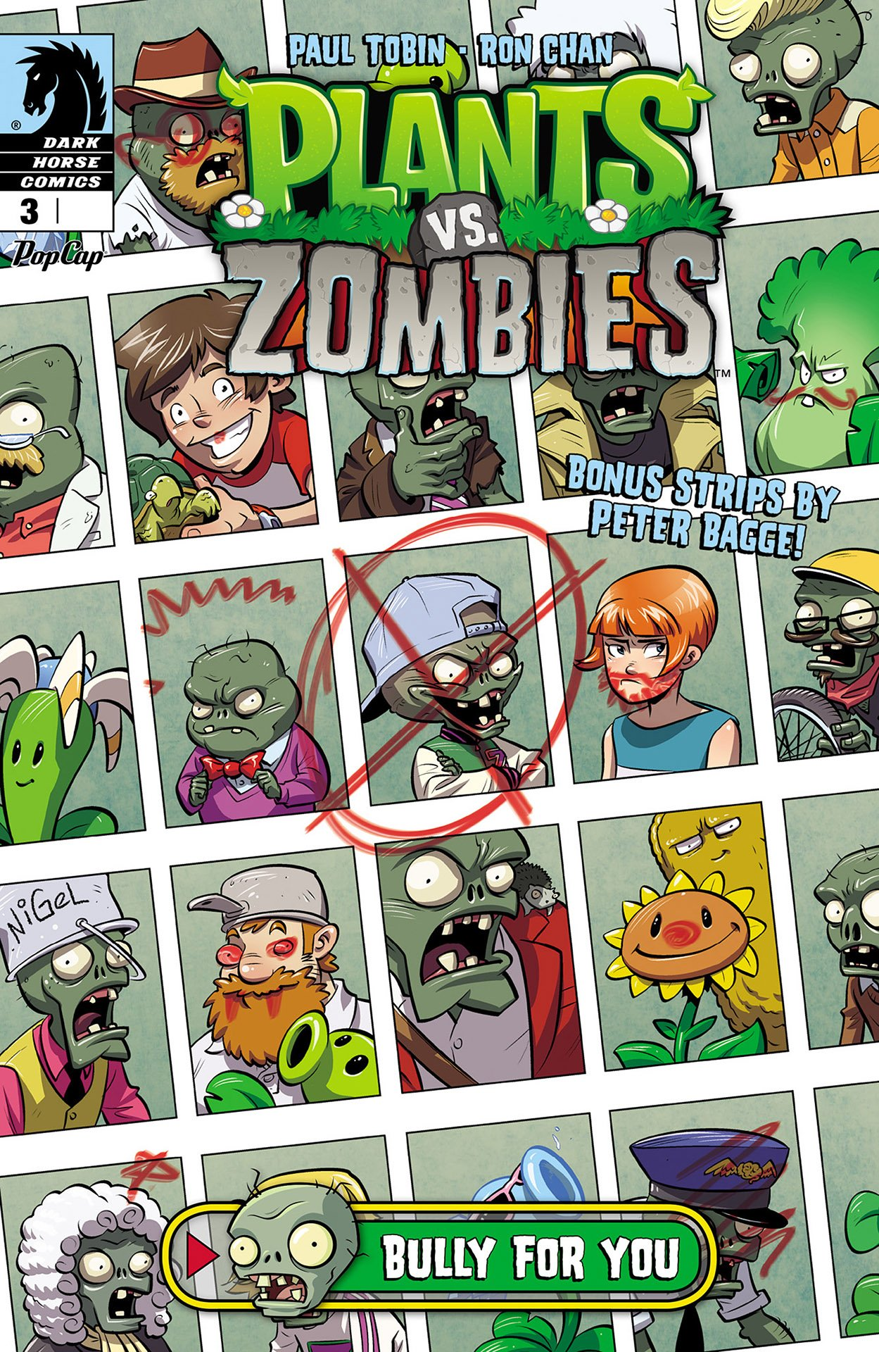 Plants vs. Zombies 003 - Bully for You 3 of 3 (August 2015)