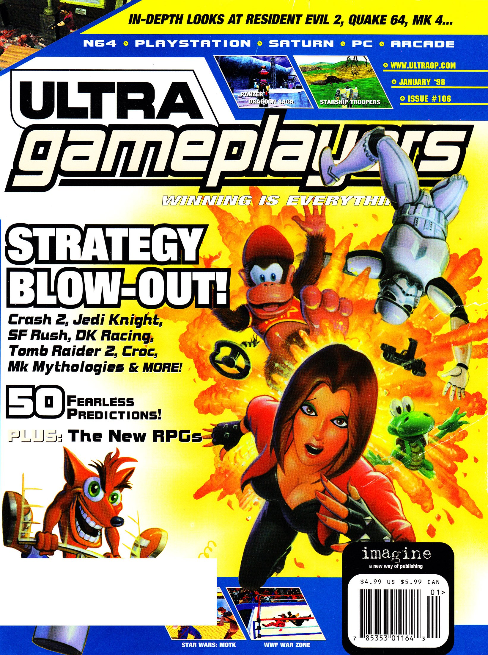 Ultra Game Players Issue 106 (January 1998)