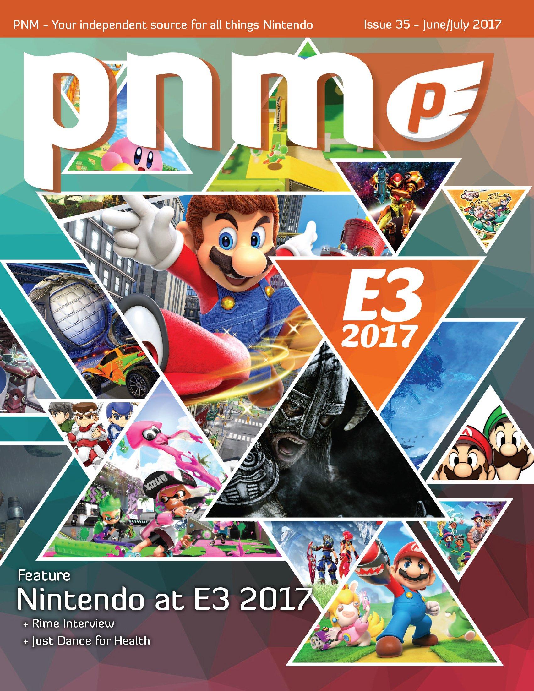 Pure Nintendo Magazine Issue 35 June/July 2017