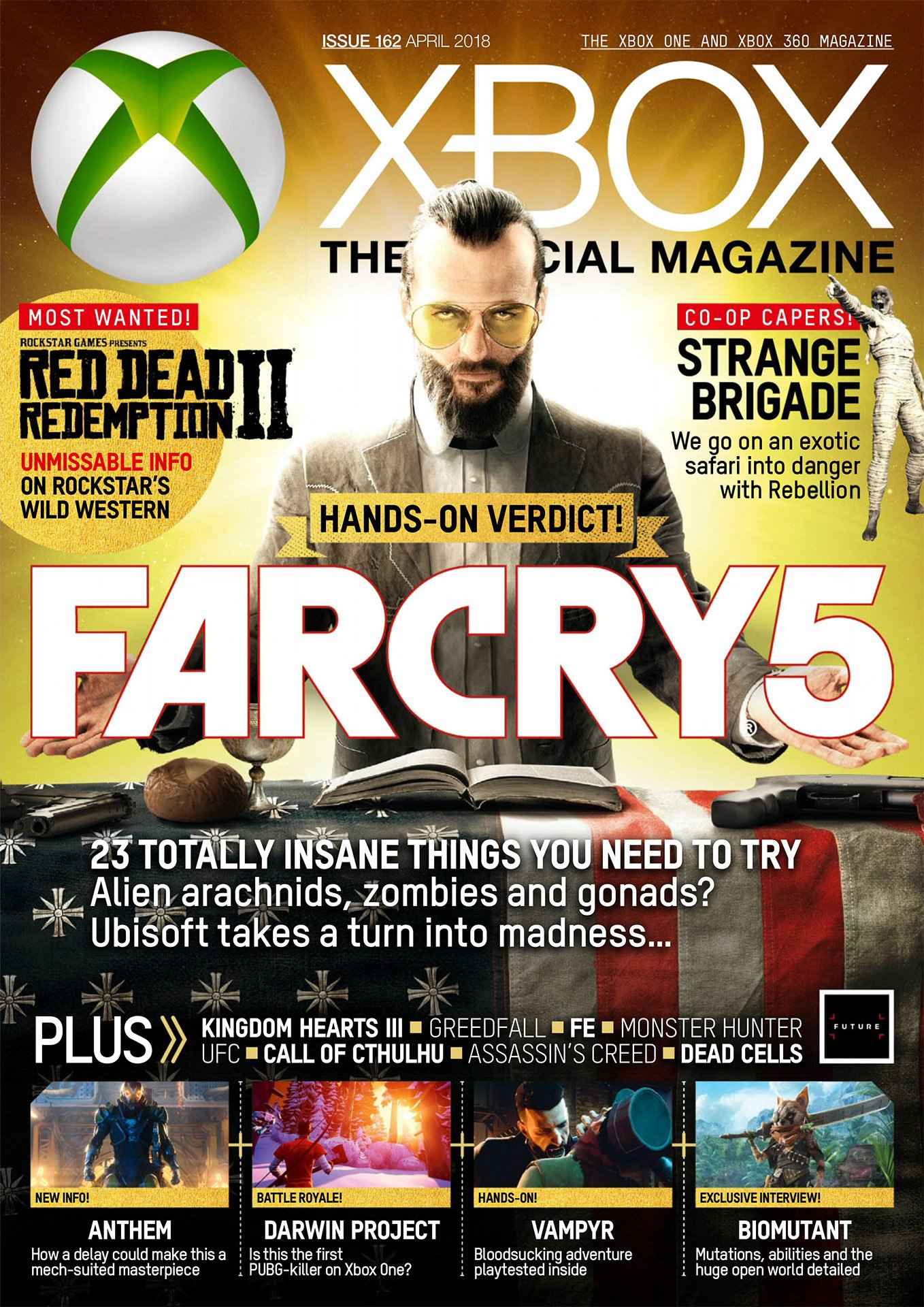 XBOX The Official Magazine Issue 162 (April 2018)