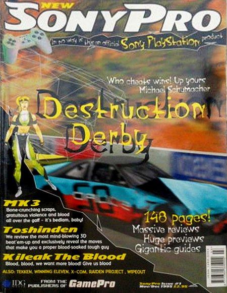 Sony Pro Issue 1 (November/December 1995)
