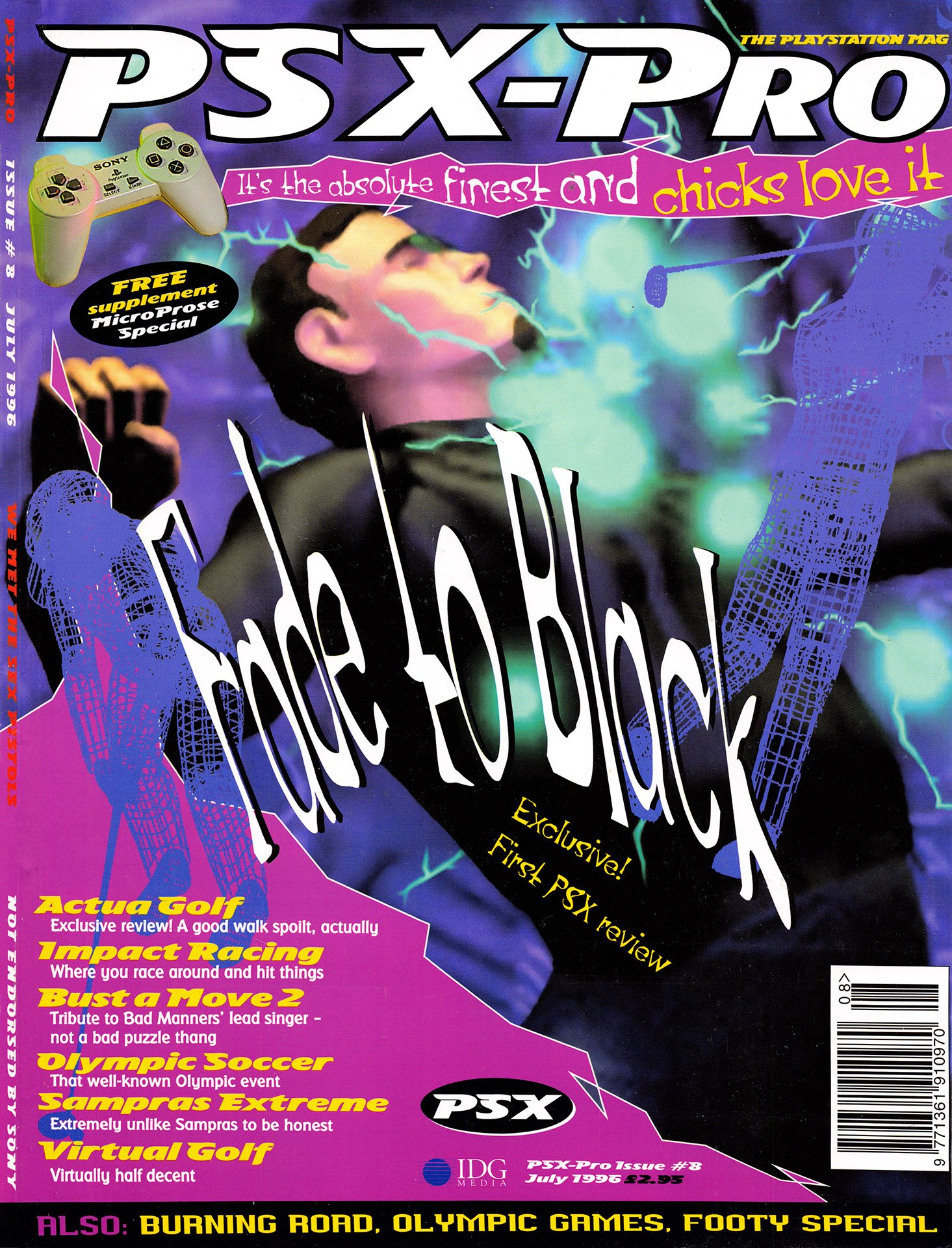 PSX-Pro Issue 08 (July 1996)