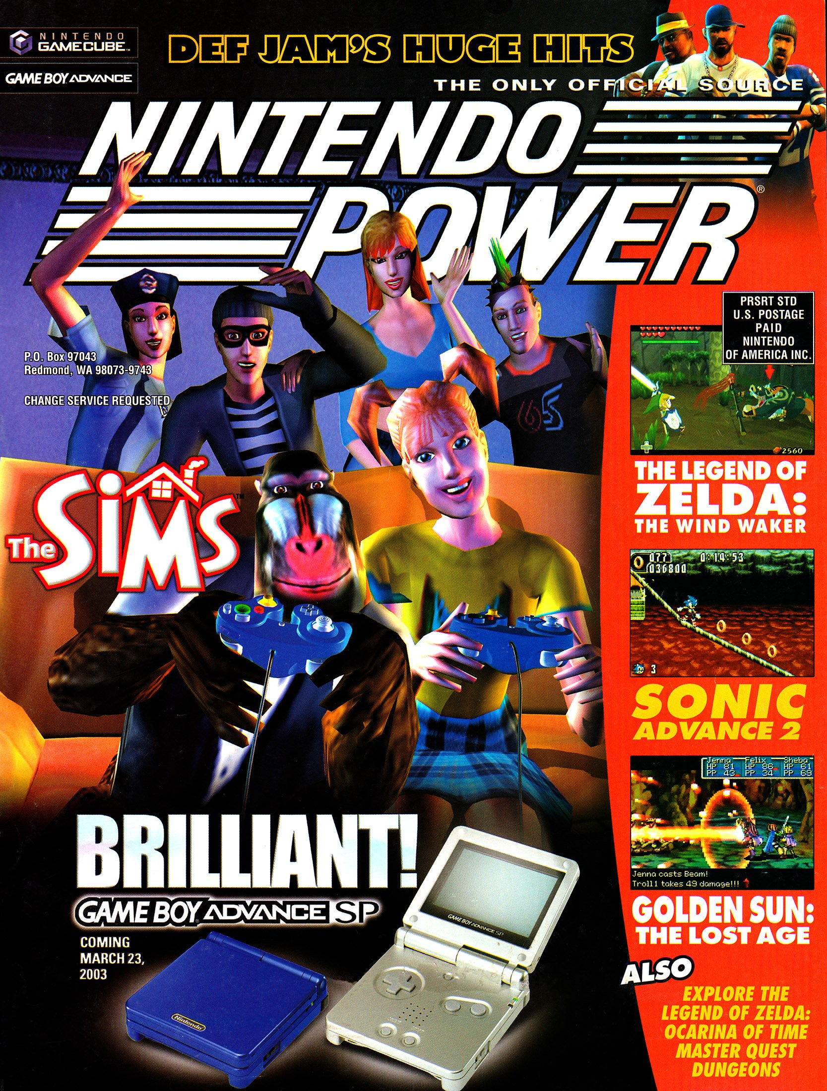 Nintendo Power Issue 166 (March 2003)