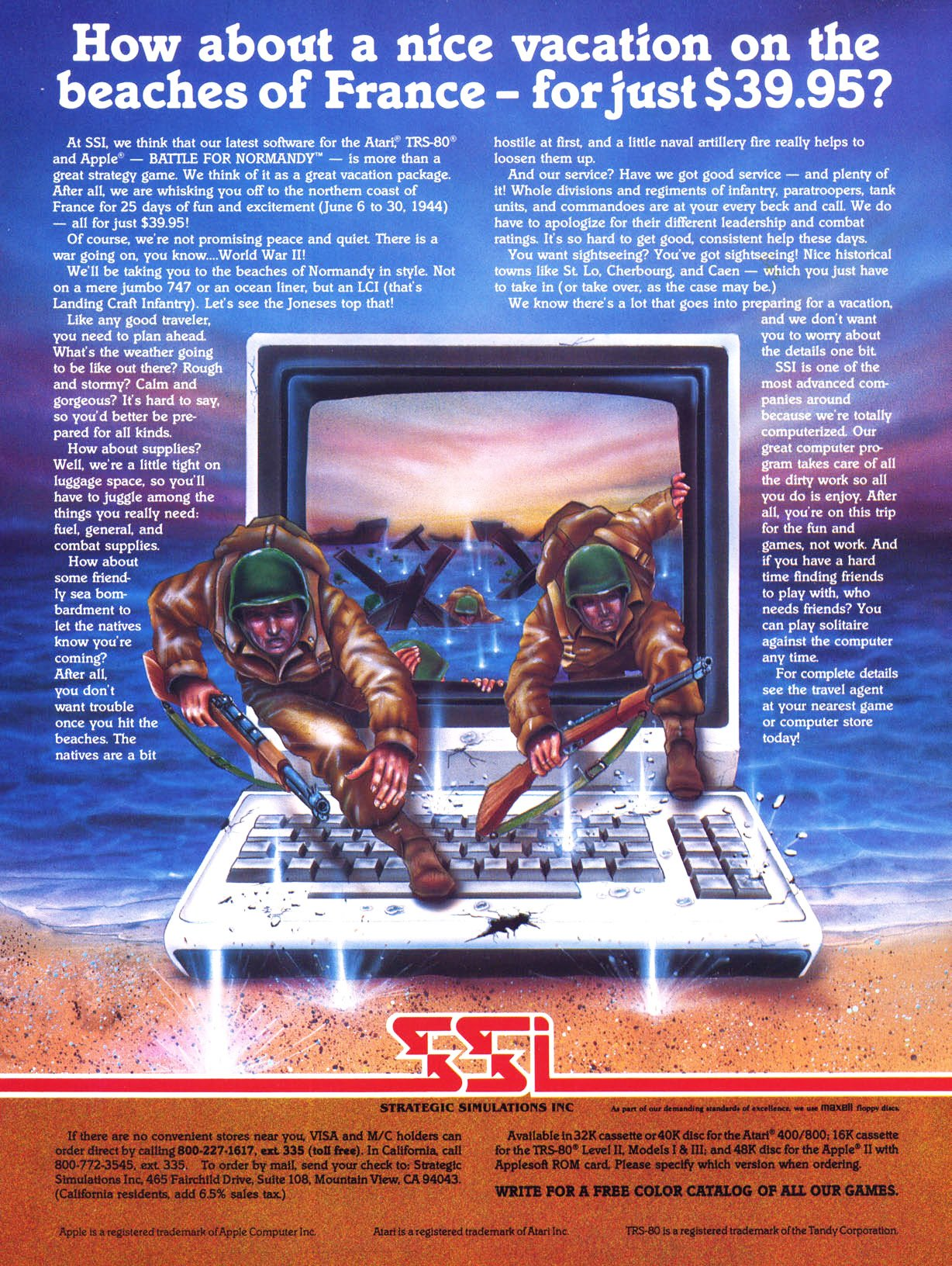 Battle For Normandy - Apple II - Retromags Community