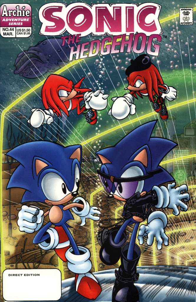 Sonic the Hedgehog 044 (March 1997)