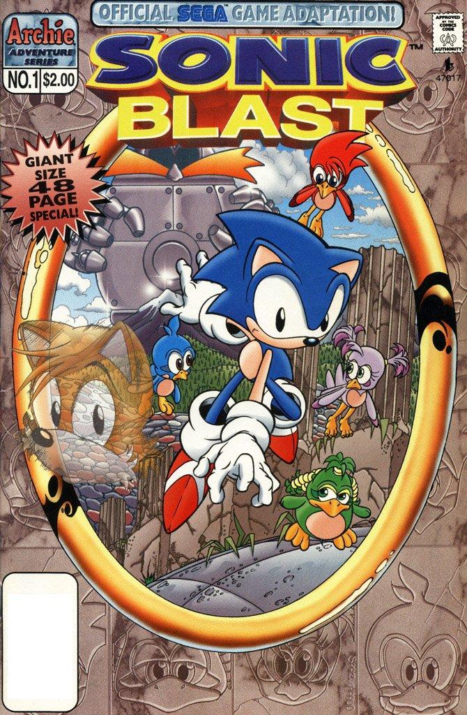 Sonic Blast (April 1997)