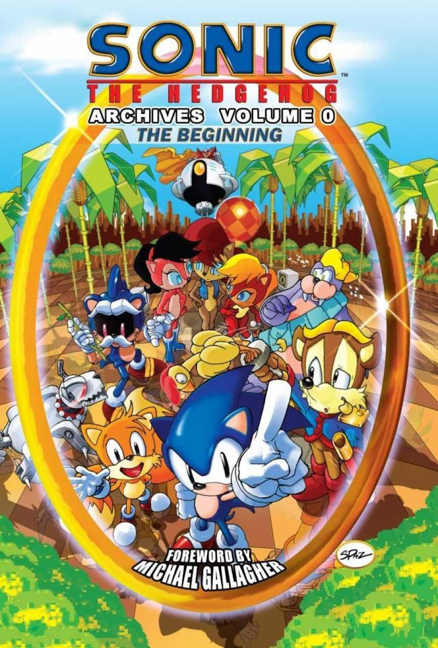Sonic the Hedgehog Archives Volume 00 - The Beginning