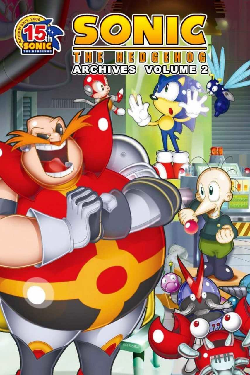Sonic the Hedgehog Archives Volume 02