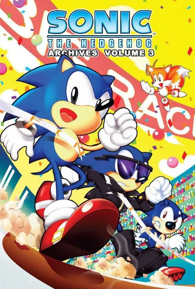Sonic the Hedgehog Archives Volume 03