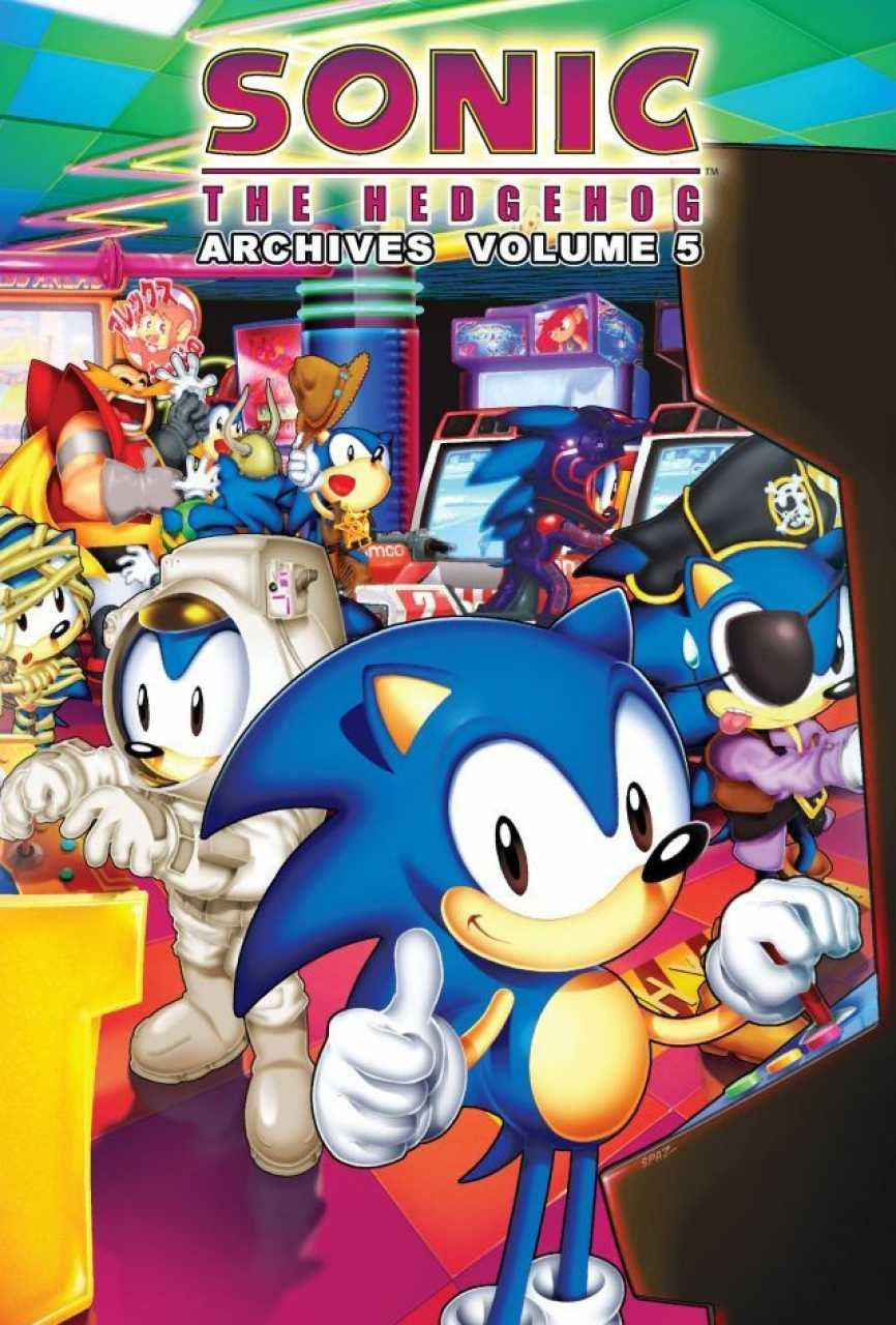 Sonic the Hedgehog Archives Volume 05