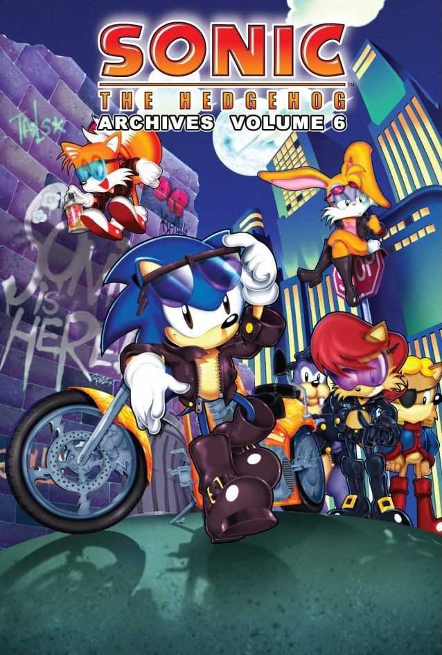 Sonic the Hedgehog Archives Volume 06