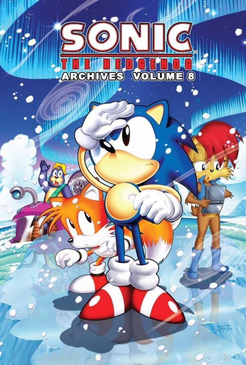 Sonic the Hedgehog Archives Volume 08