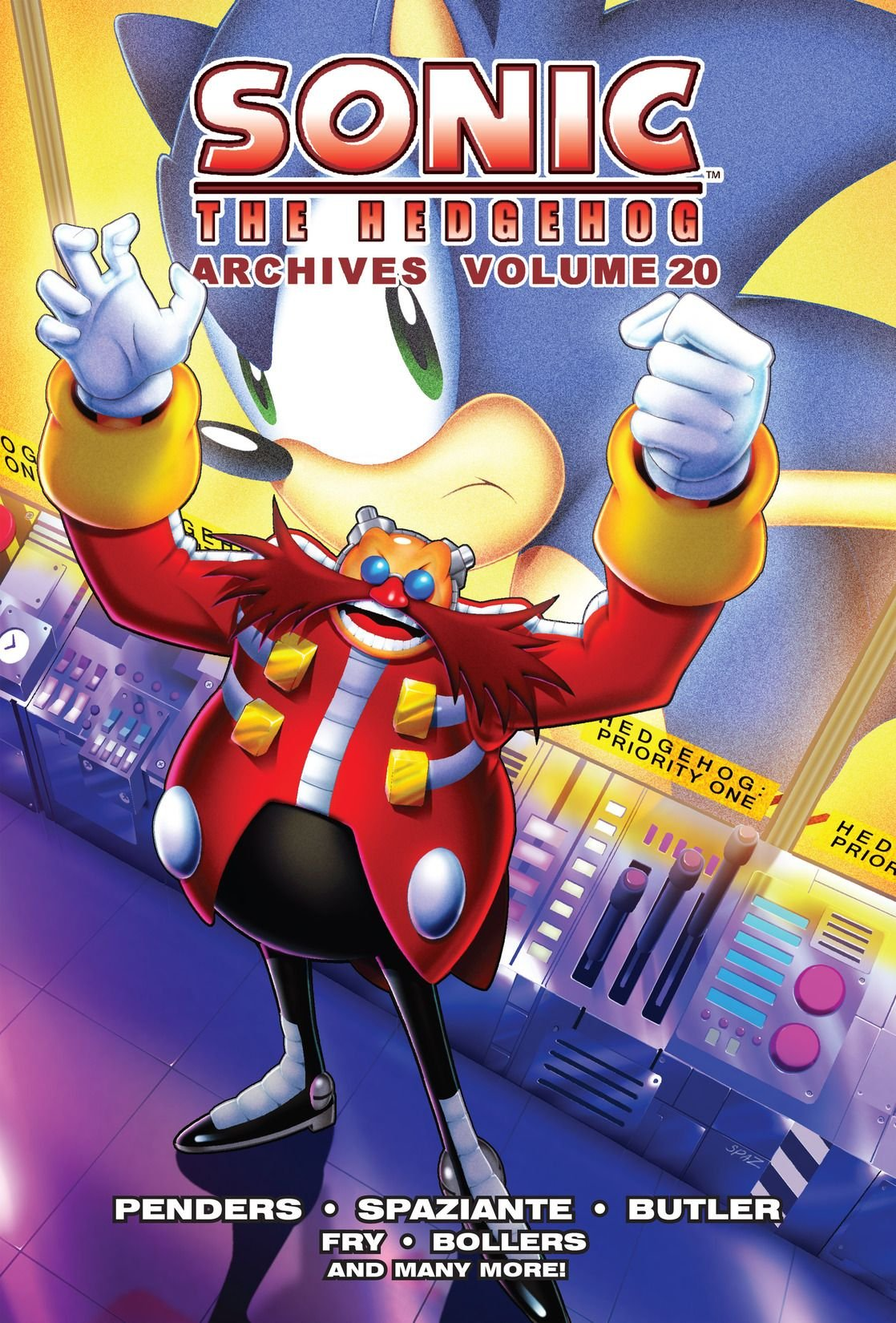 Sonic the Hedgehog Archives Volume 20