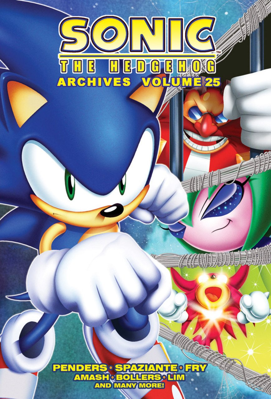 Sonic the Hedgehog Archives Volume 25 (unreleased)