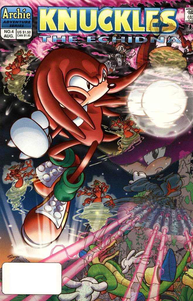 Knuckles the Echidna 04 (August 1997)