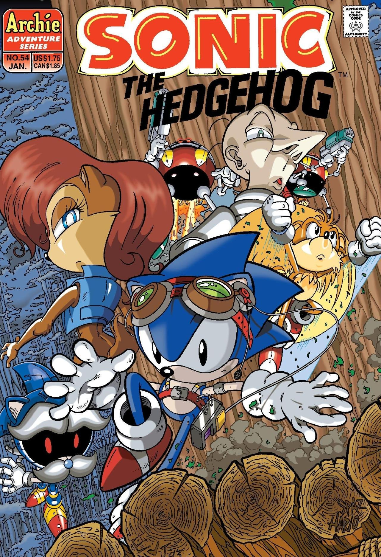 Sonic the Hedgehog 054 (January 1998)