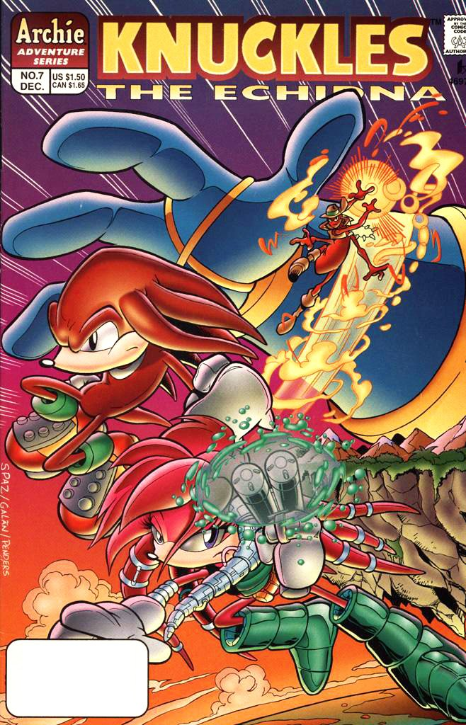 Knuckles the Echidna 07 (December 1997)
