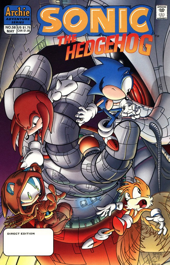 Sonic the Hedgehog 058 (May 1998)