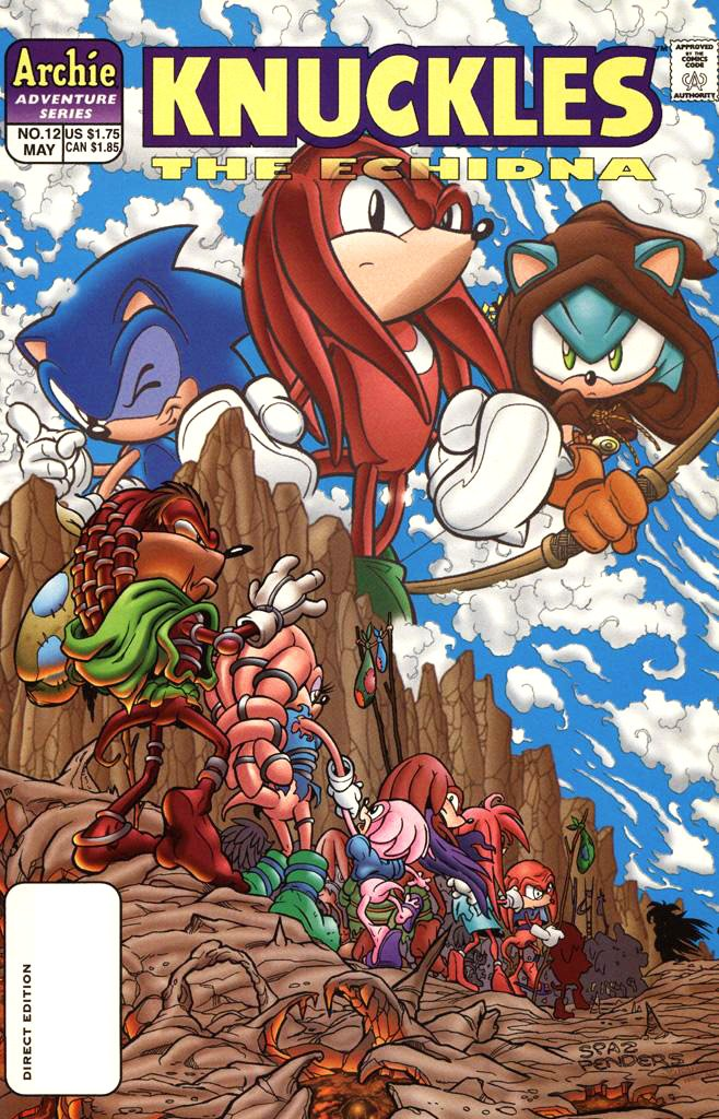 Knuckles the Echidna 12 (May 1998)