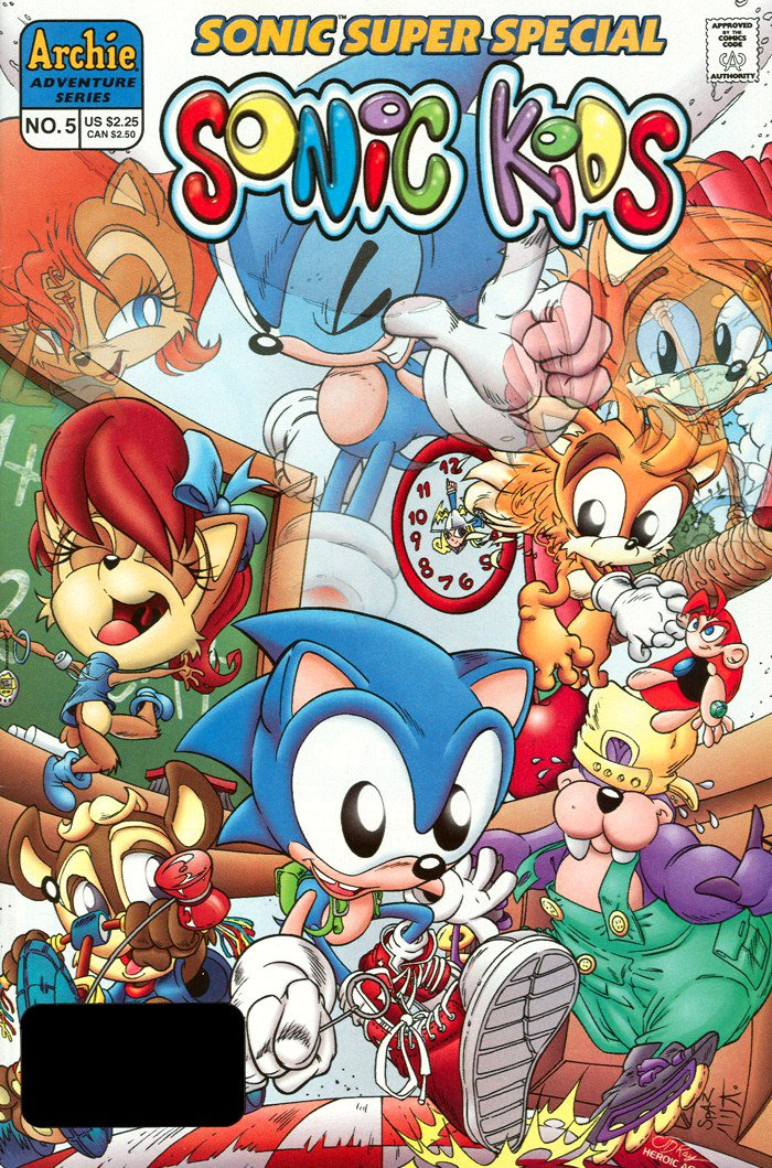 Sonic Super Special 05 - Sonic Kids (May 1998)