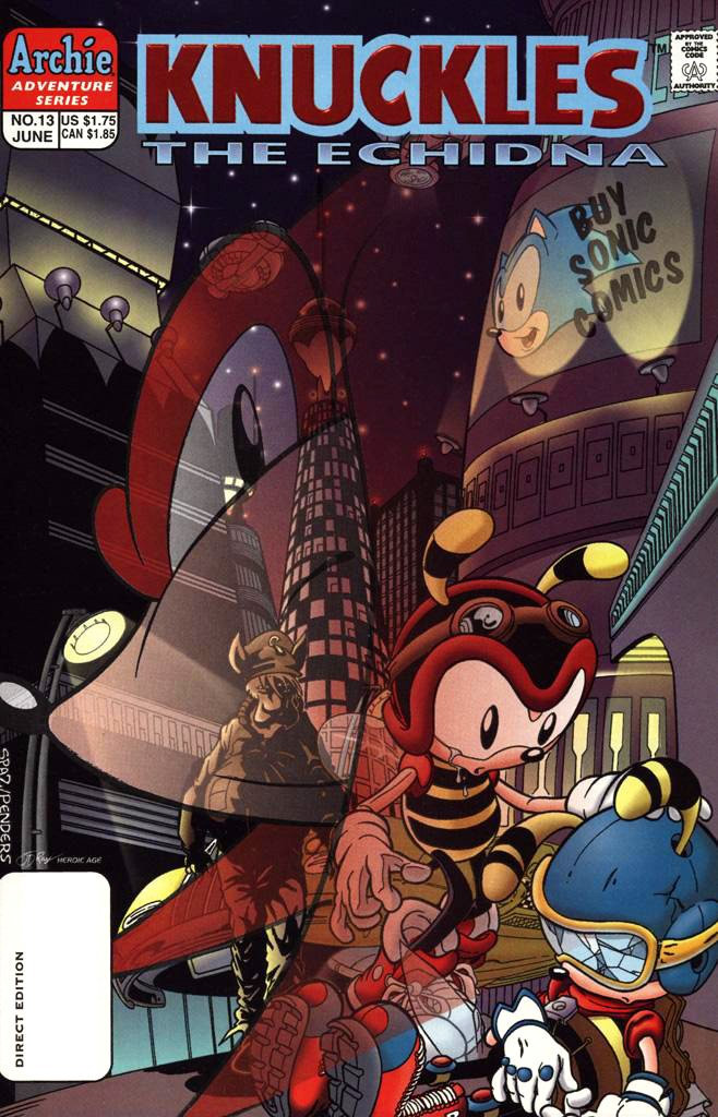 Knuckles the Echidna 13 (June 1998)