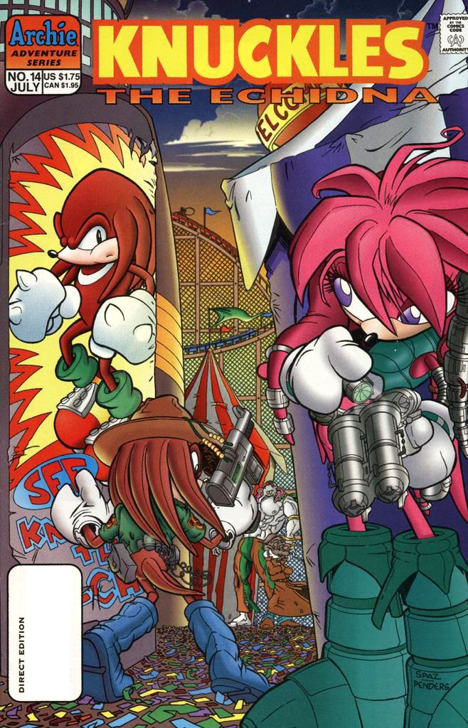 Knuckles the Echidna 14 (July 1998)