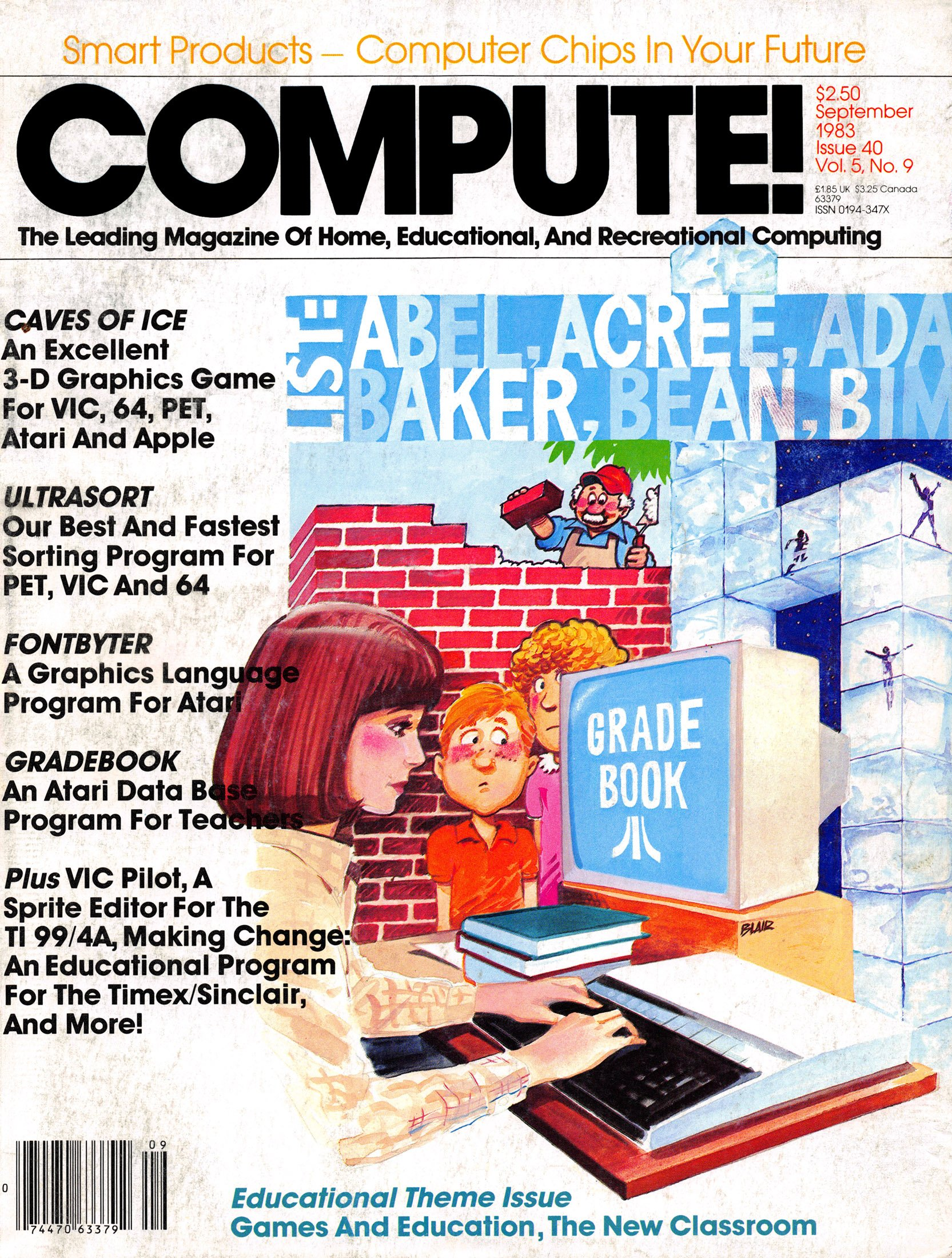 Compute! Issue 040 Vol. 5, No. 9 September 1983