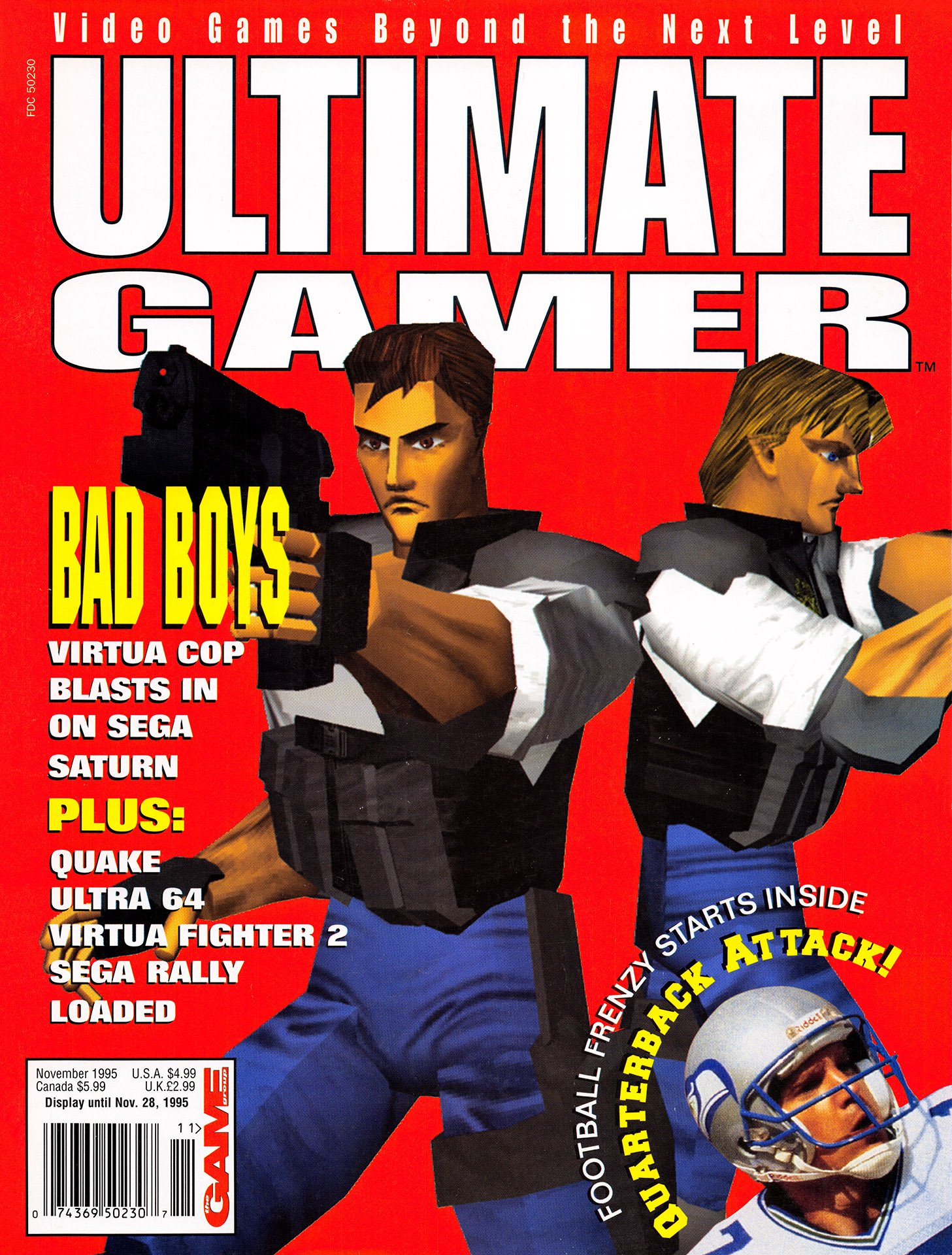 Ultimate Gamer Issue 4 (November 1995)
