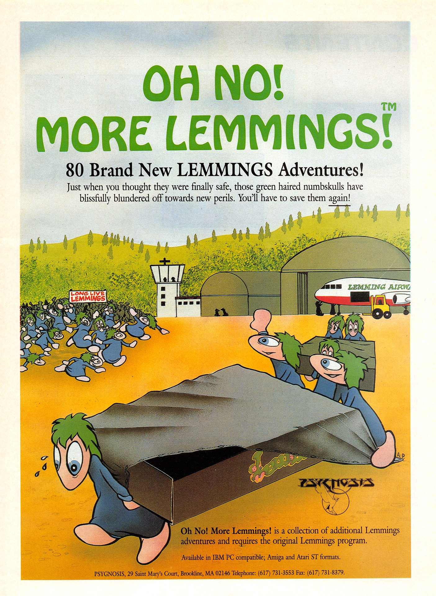 Oh No! More Lemmings!