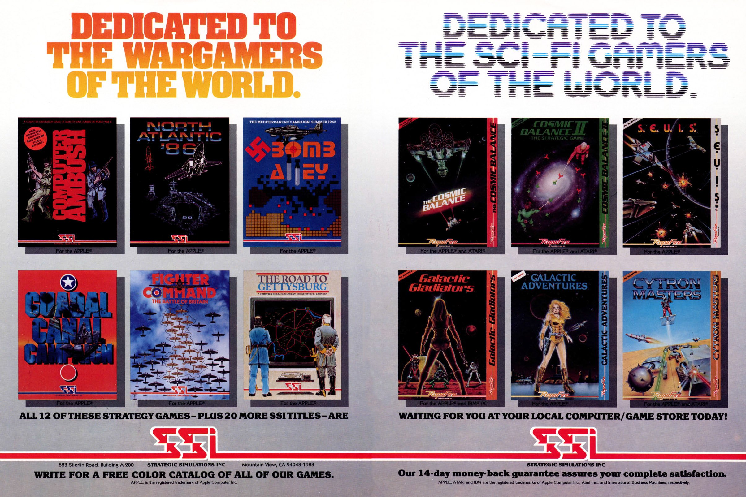 SSI strategy games - Apple II - Retromags Community