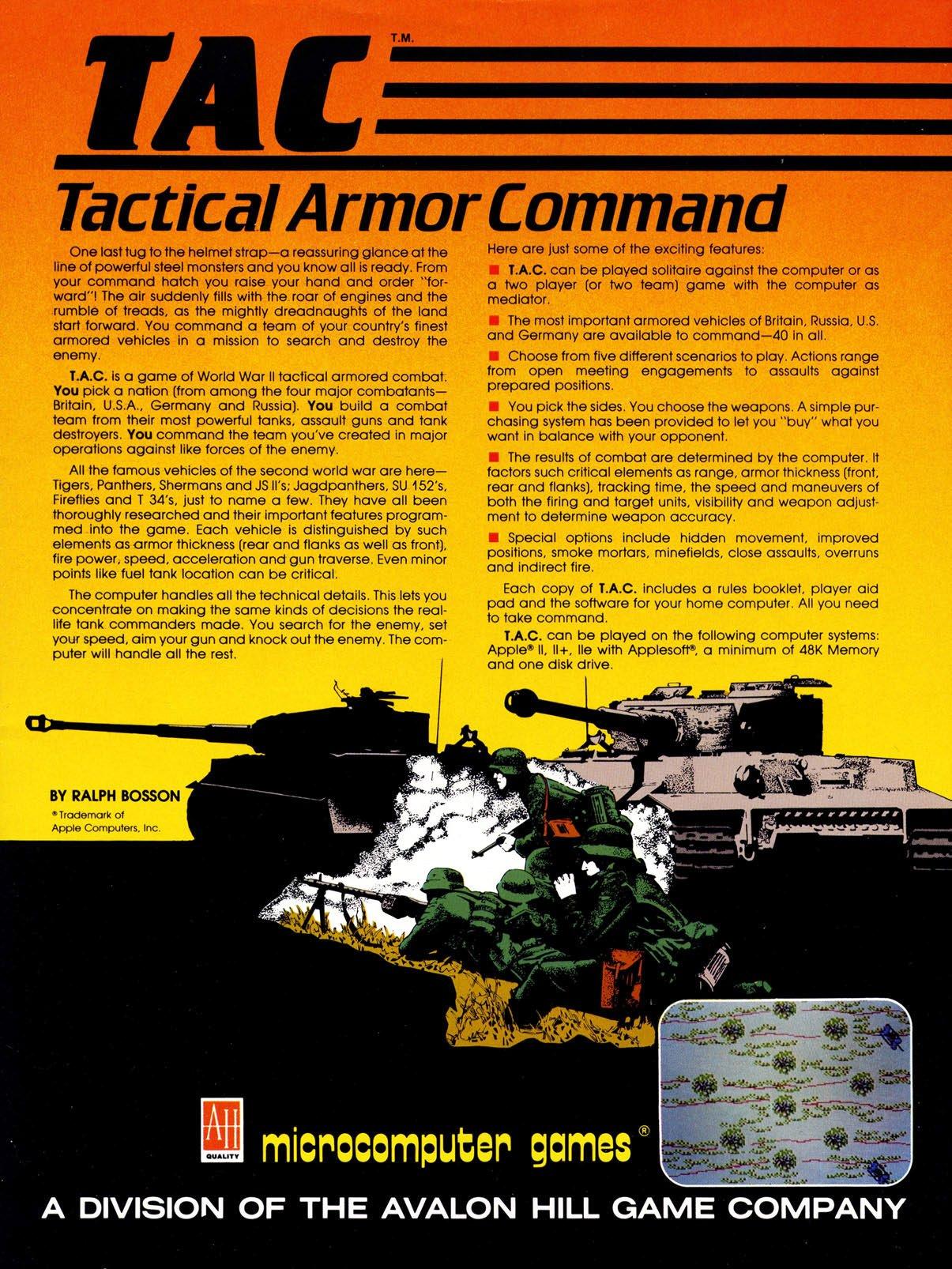 TAC: Tactical Armor Command