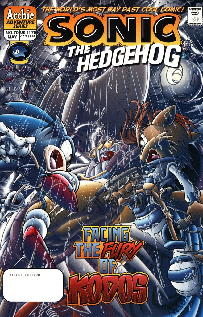 Sonic the Hedgehog 070 (May 1999)