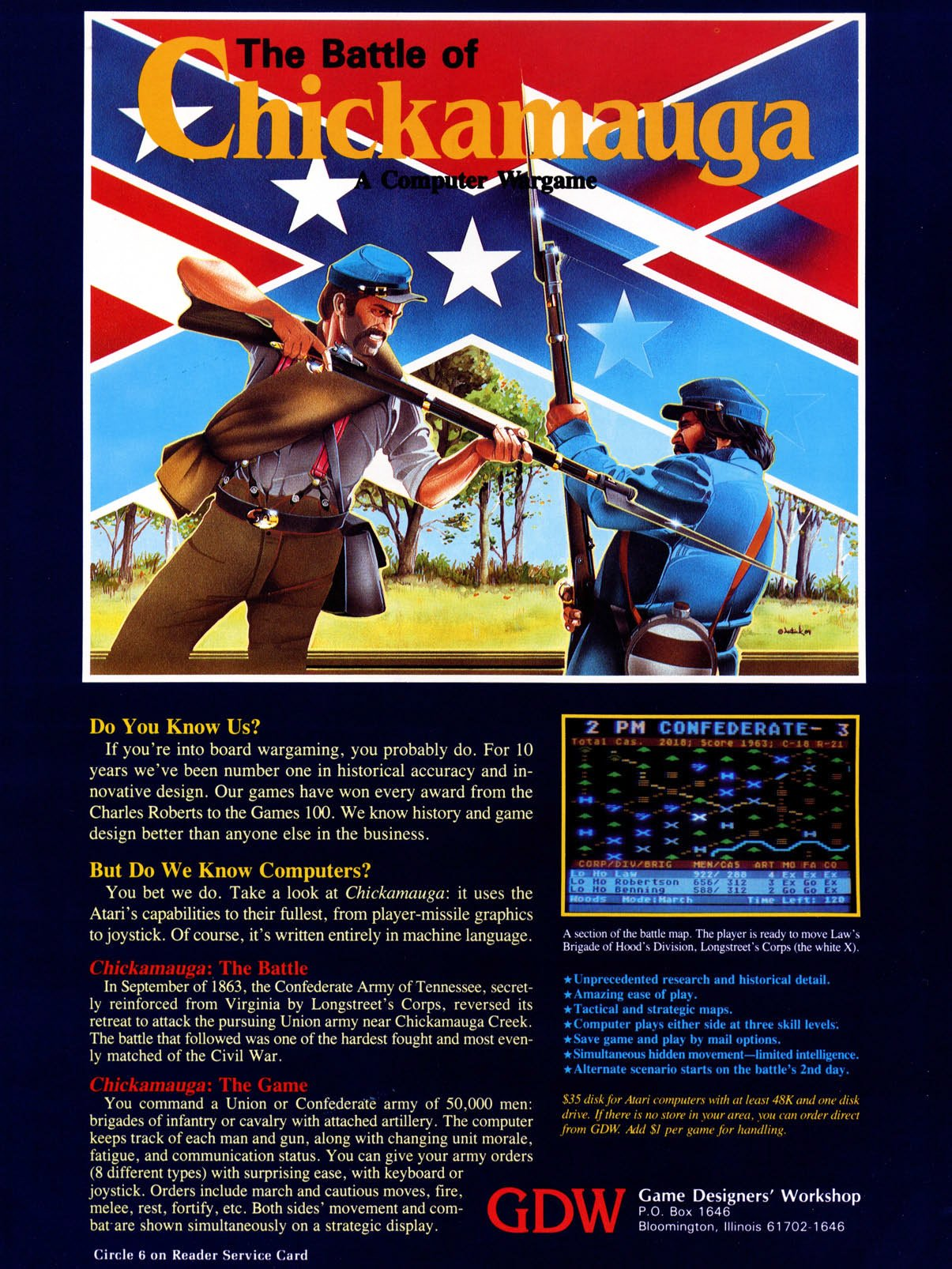Battle of Chickamauga, The