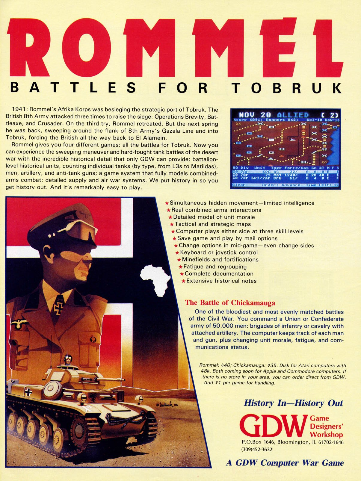 Rommel: Battles for Tobruk