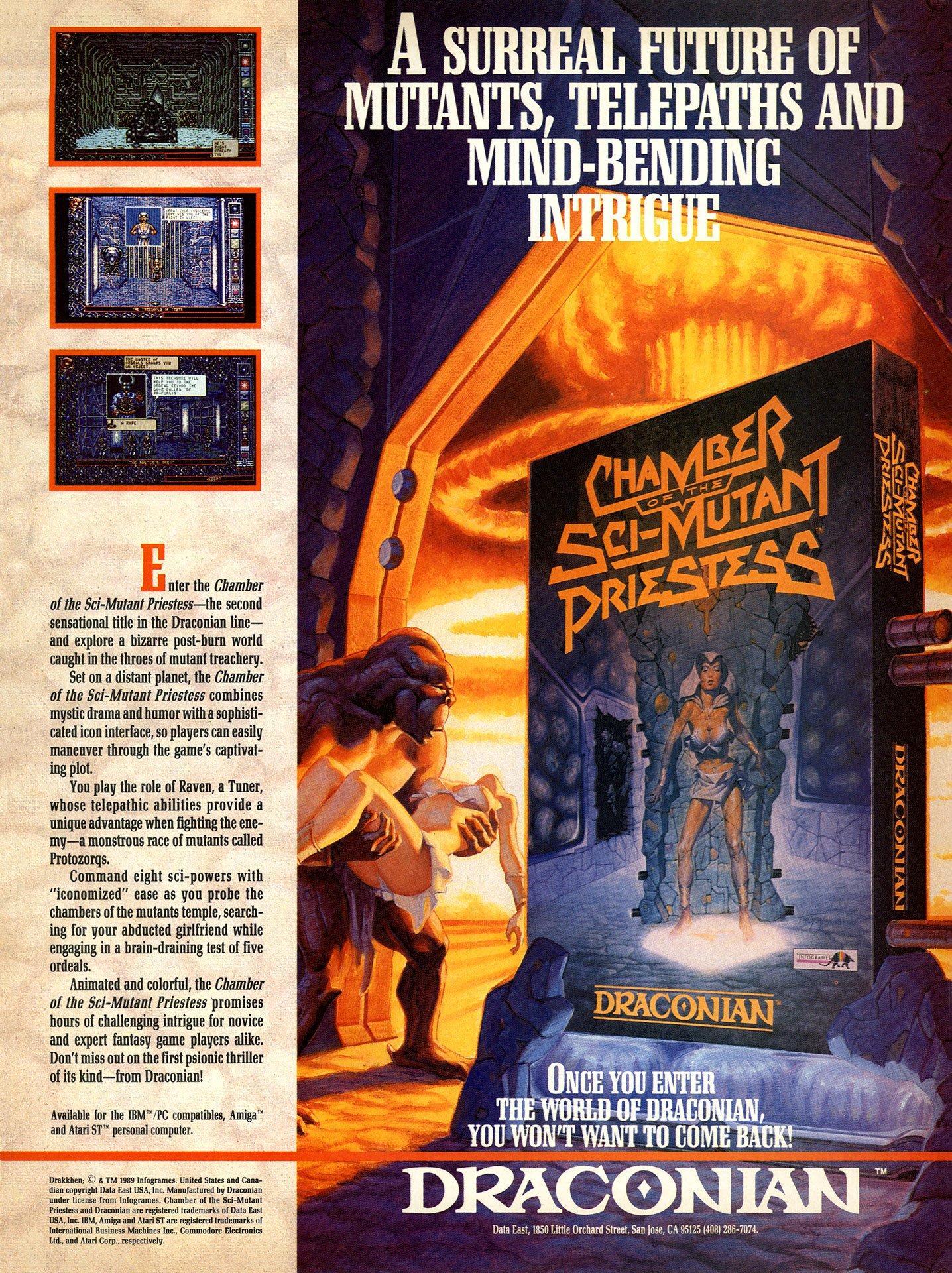 Chamber of the Sci-Fi Mutant Priestess