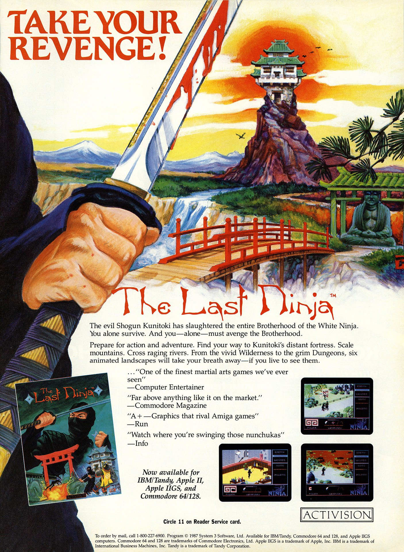 Last Ninja, The